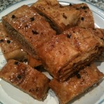 My Baklava with pecan and almonds