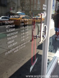Biscousciao NYC open hours